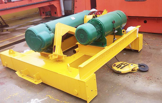 Hoist Trolley for 10 Ton Overhead Crane
