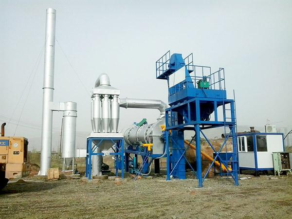 drum continuous asphalt mixing plant
