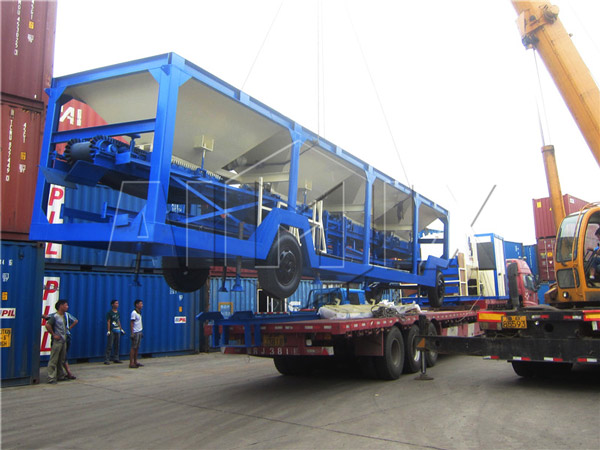 mobile asphalt mixing plants for sale was going to Indonesia
