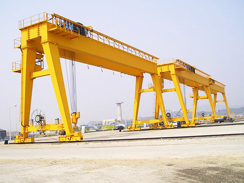 outdoor double girder gantry crane for sale