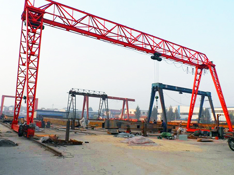 outdoor truss gantry crane for sale
