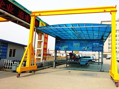 small portable gantry crane sales