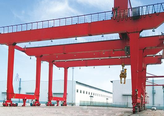 The Main Difference Between A Rubber Tire Gantry Crane And A Rail Mounted Gantry Crane