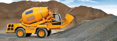 self load concrete mixer