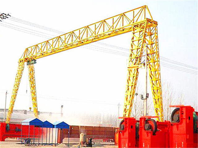 Common 5 ton gantry crane of Weihua