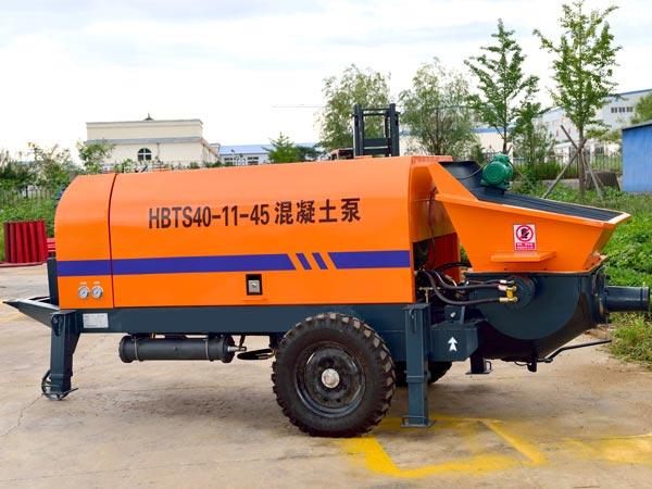 Small Concrete Pump