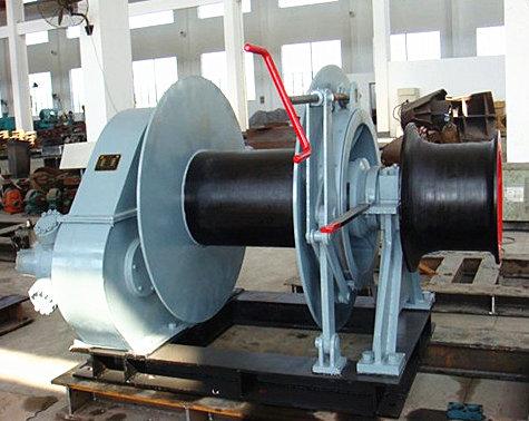 Marine hydraulic winch for sale