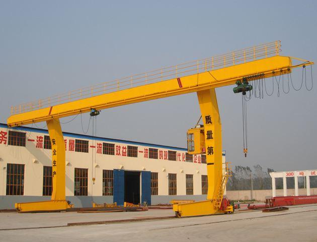 L Type Rail Mounted Gantry Crane