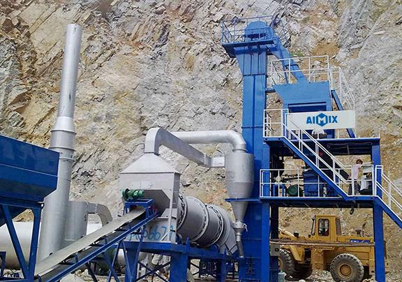 A Brief Introduction To An Asphalt Batching Plant Workflow