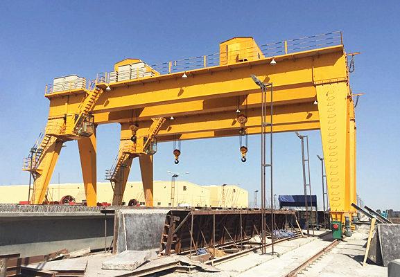 Buy double girder gantry crane in China