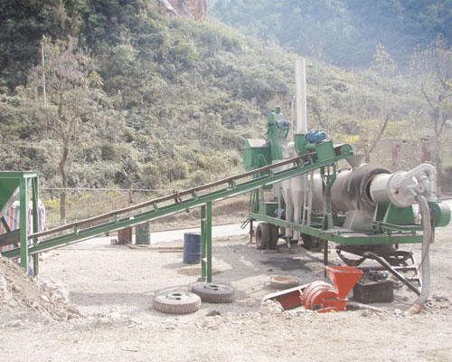 Aimix mobile asphalt mixing plant