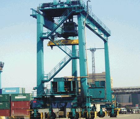 The Benefits Of The Rubber Tyred Gantry Crane