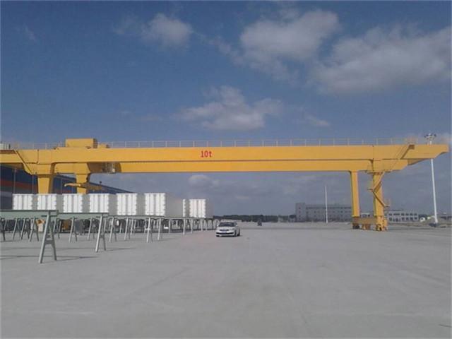 Buy double girder gantry crane 10 ton