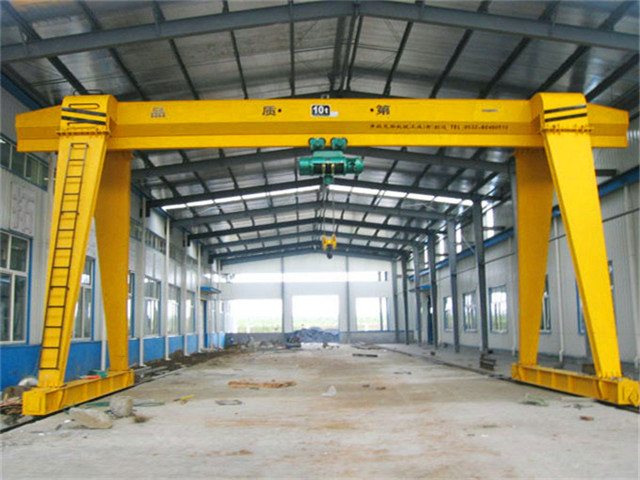 Sale of one-girder gantry crane 10 tons from China