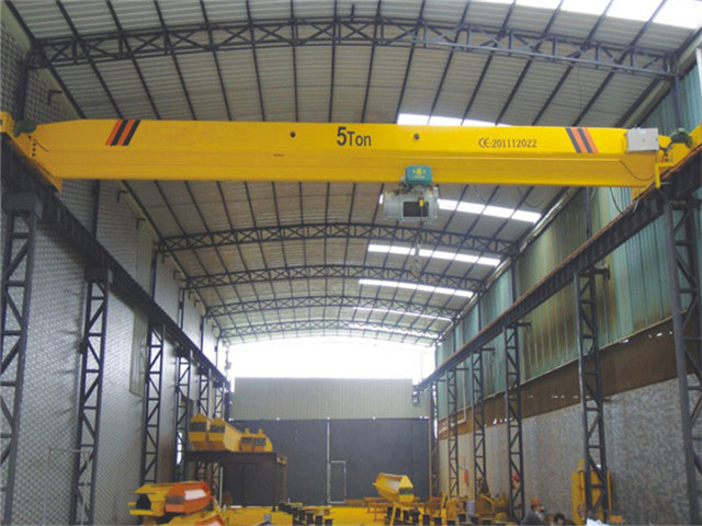 supply single girder overhead crane for sale
