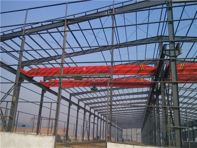 select single girder overhead crane